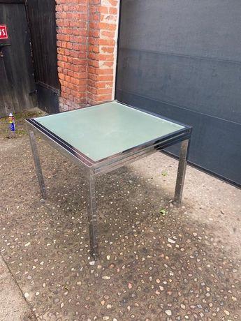 Stół chrom rozkładany