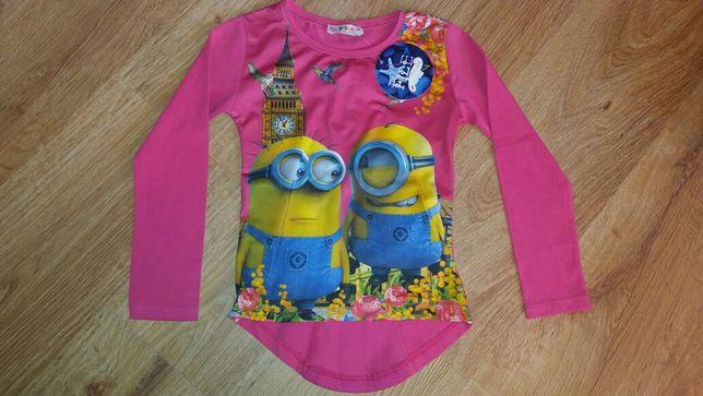 Nowa bluzka minionki 116