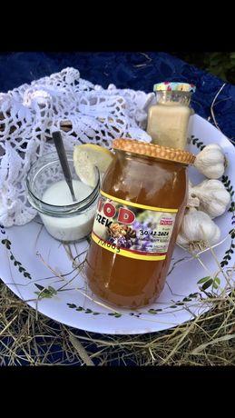 100% Naturalny miód pszczeli, pierzga, pyłek z własnej pasieki