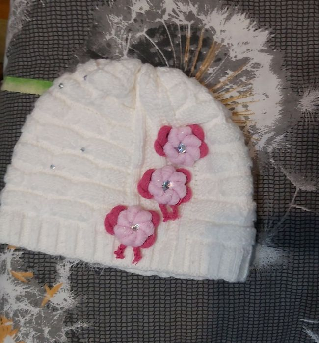 Шапка и шарфик на девочку двух видов Дніпро - зображення 1