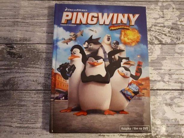 PINGWINY z Madagaskaru książka i film DVD
