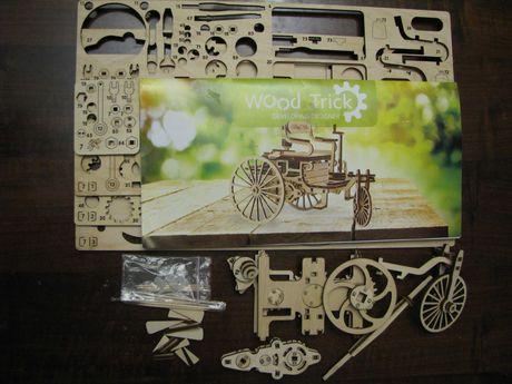 Игрушка Деревянный 3D конструктор Первый автомобиль Wood Trick