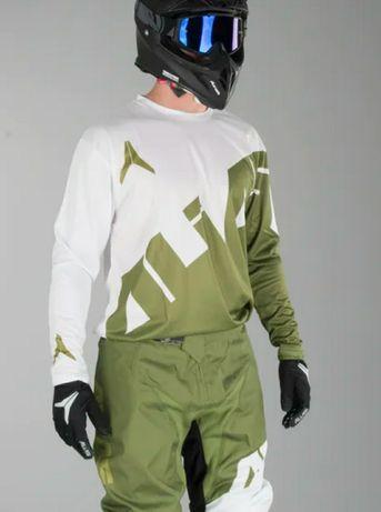 Koszulka bluza cross enduro Crossa fly nowa M zielona quada  strój