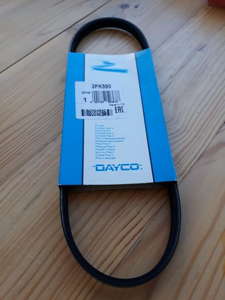 Ремень помпы поликлиновый Dayco 3РК590 Jaguar x-type 2.5; 3.0