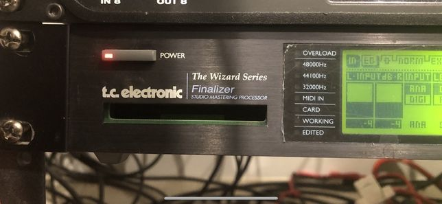TC Electronic Finalizer Mastering Processor