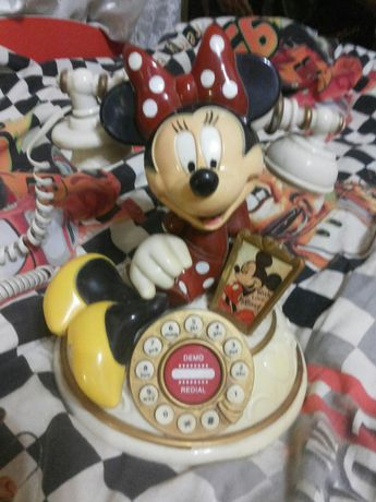 Телефон Мини Маус рабочий