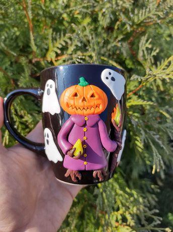 Чашка на Halloween