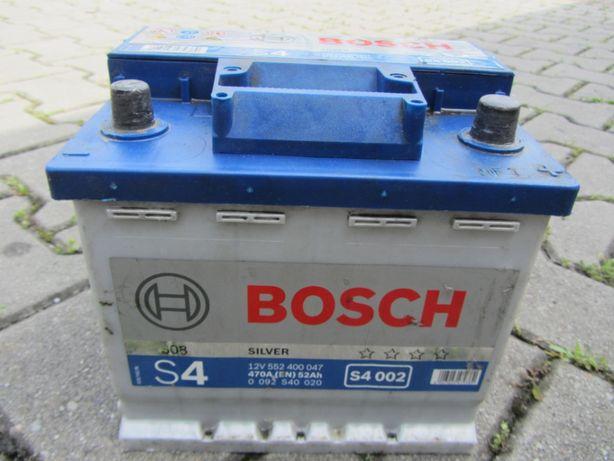Akumulator Bosch S4 002 52Ah 470A P+ 12V