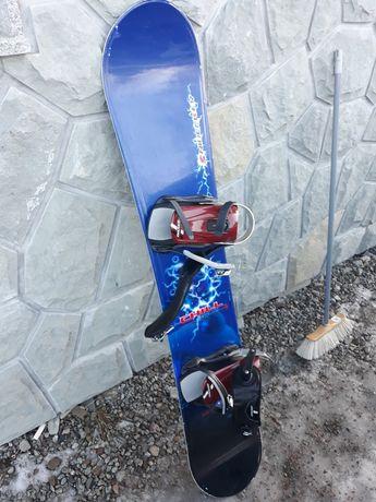 Snowboard Nidecker 155+ wiązania+ buty