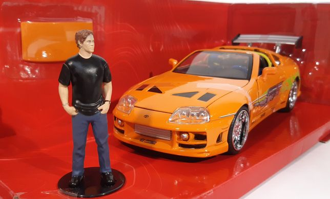 1/24 Toyota Supra *Fast and Furious* - Jada Toys