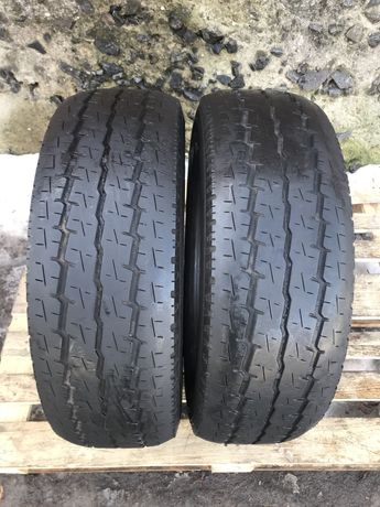 Toyo 225/70r15c 2 шт пара лето резина шины б/у склад