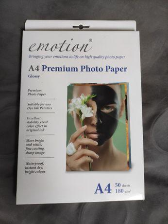 Papier Fotograficzny Glossy Photo Paper A4 50szt 180g/m2