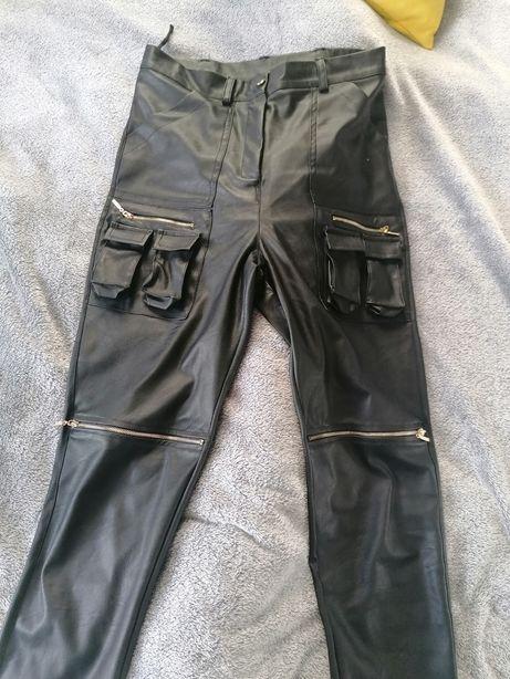O la voga spodnie woskowane