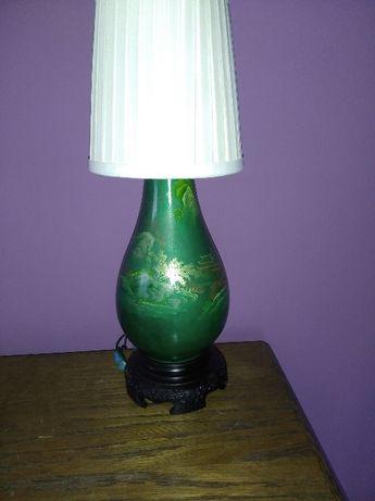 Lampka , lampa   z Laki - piękna , zielona