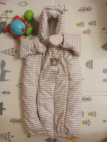 Зимний конверт комбинезон Mothercare 3-6 месяцев