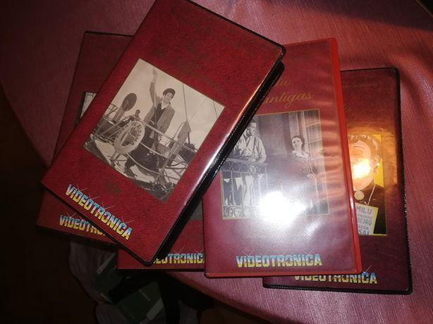 Coleção de 5 Filmes Antigos Portugueses- Cassetes VHS