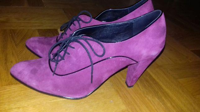 Miss Sixty туфли ботильоны замшевые 25.5 см.
