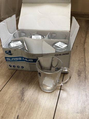 Zestaw szklanek nowe