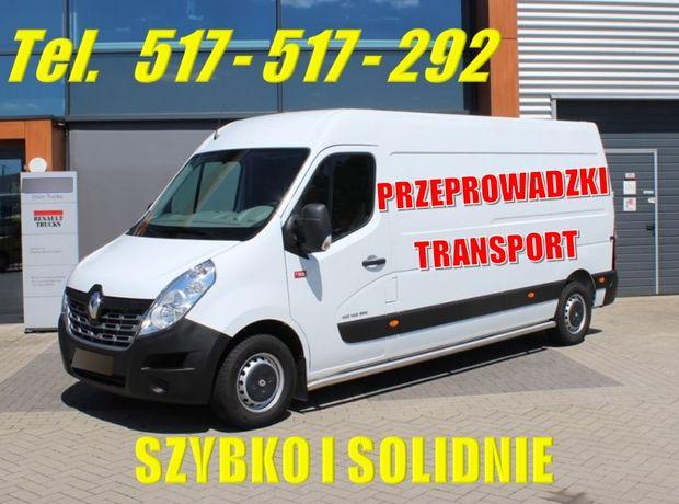 Transport * Przeprowadzki * Przewóz rzeczy* Cała Polska * Własna Ekipa