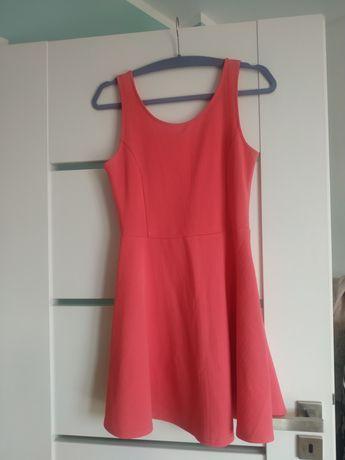 Różowa sukienka hm stan idealny rozmiar 38