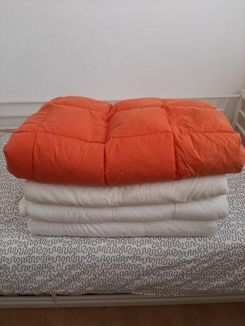 Edredon cama de solteiro