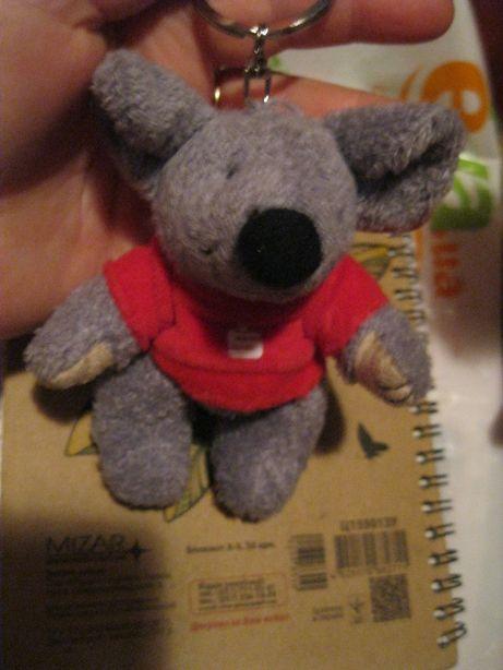 детская мягкая игрушка мышка германия мышонок мышь брелок крыса