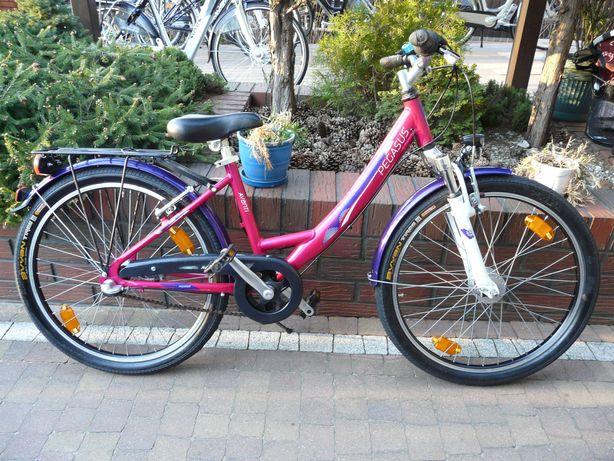 "Rower PEGASUS AVANTI 24"", hamulec w pedałach"