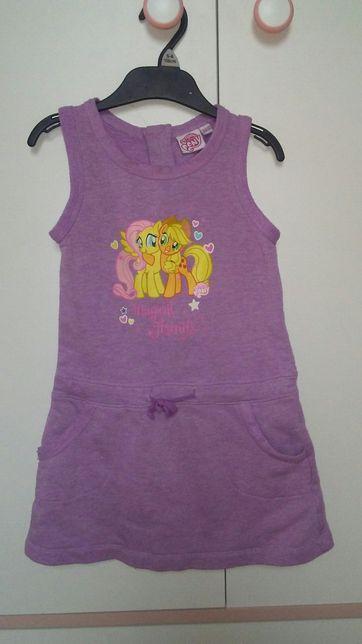 Sukienka rozmiar 104/110 My little pony