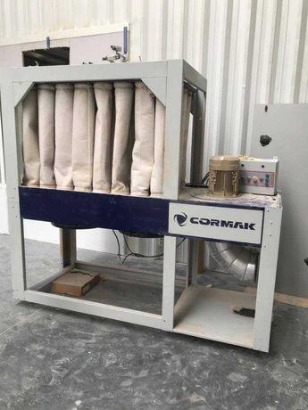 Odciąg do pyłów i wiórów drzewnych CORMAK DCV6500 Eco dom warsztat