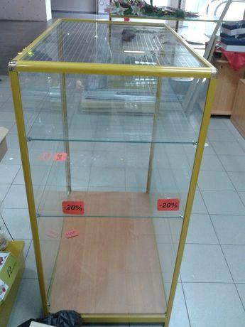 Торговое оборудование, прилавок, витрина , выставочный куб