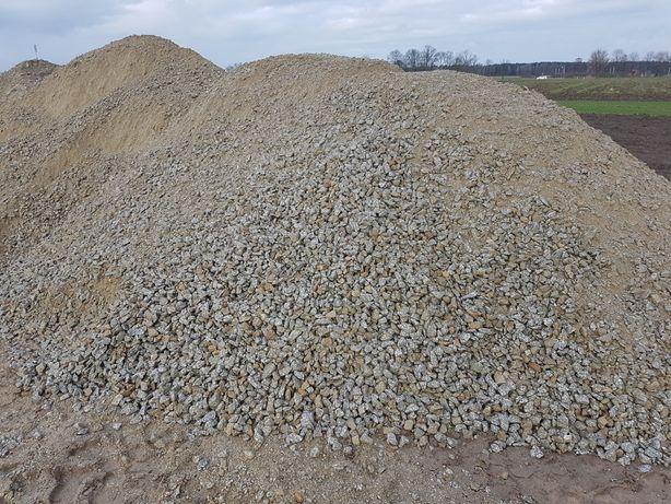 Tłuczeń granitowy 0-31,5 KLINIEC 8-31,5 Transport 1-26 ton Utwardzenie