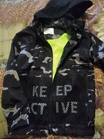 Куртка дождевик Zara р. 128