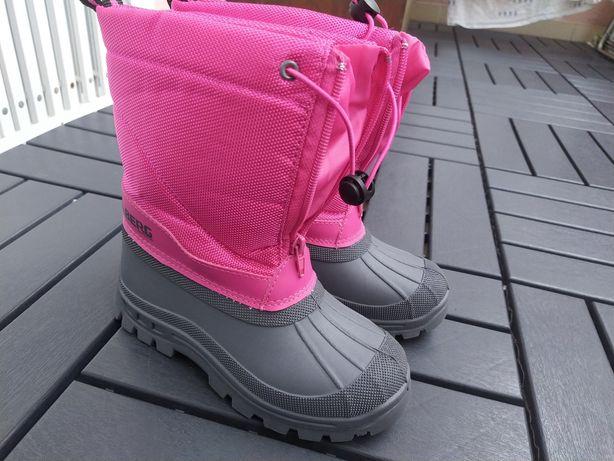 Botas neve inverno Berg Rosa