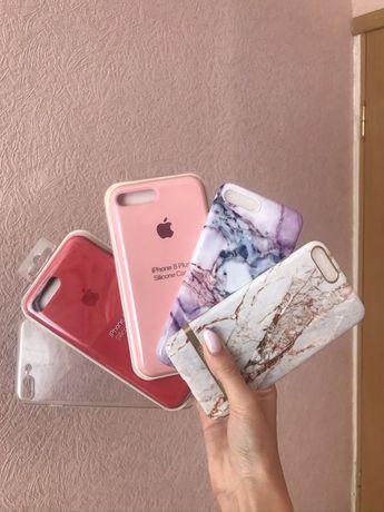 Продам чехол на айфон 7+/8+ iphone silicone case