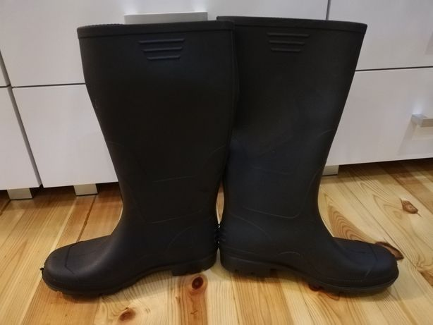 Gumaki, kalosze czarne-rozmiar 43