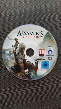 Płyta do gry Assassin's Creed III PC pl disc 1