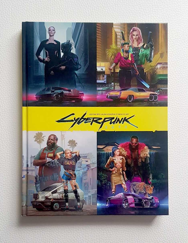 Cyberpunk 2077 oficjalna książka/album
