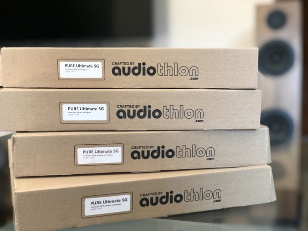 Kable głośnikowe PURE ULTIMATE SG jedna para 2x3m nowe