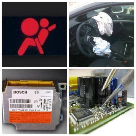 Ремонт блоков управления SRS Airbag_crash data