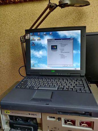 Ретро ноутбук уникальный винтаж для старых игр