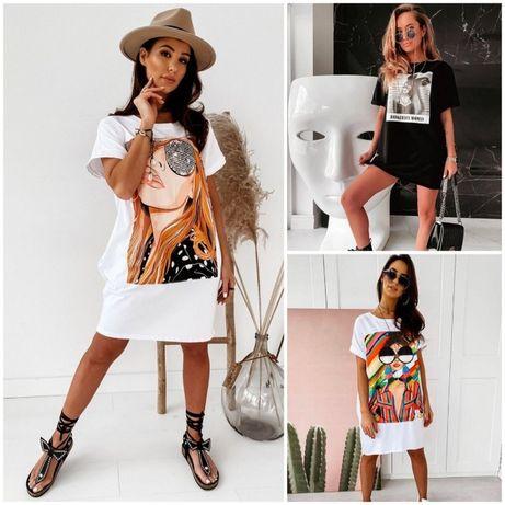 Платье-футболка 3 модели (с,м, л, хл), летнее платье, футболка, туника
