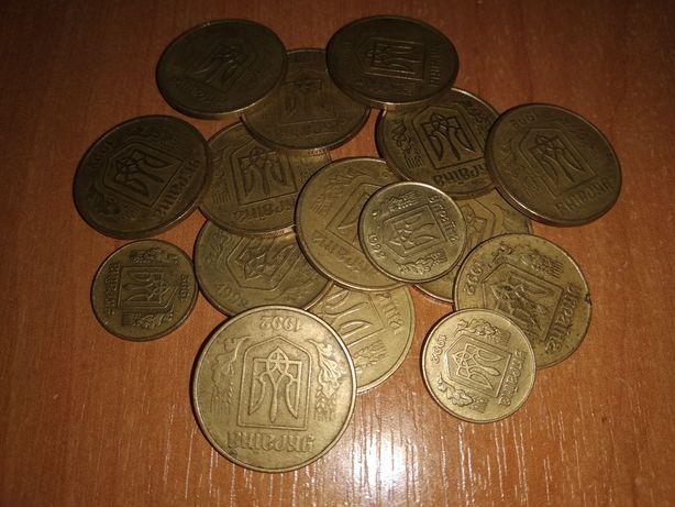 Продам монеты 50, 25, 10 копеек 1992 года
