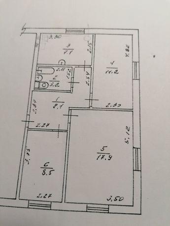 Продам трикімнатну квартиру