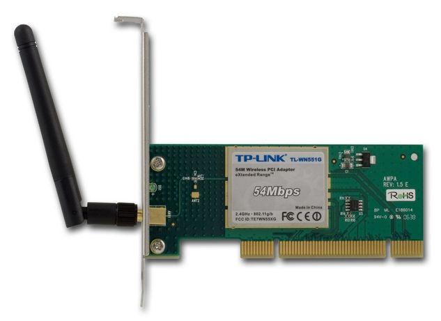 Беспроводной Wi-Fi PCI-адаптер стандарта IEEE 802.11g TP-Link TL-WN551