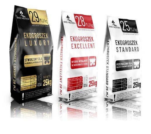Ekogroszek pakowany w najlepszej cenie od producenta | 29 MJ/kg SUCHY