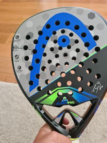Raquete Padel Head Alpha Pro 375g +10