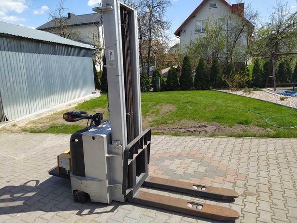 Paleciak elektryczny, wózek podnośnikowy masztowy 3300cm 1500kg
