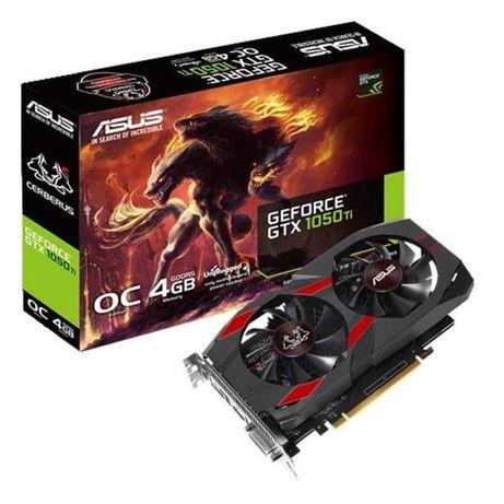 Відеокарта ASUS GeForce GTX1050 Ti 4096Mb CERBERUS OC