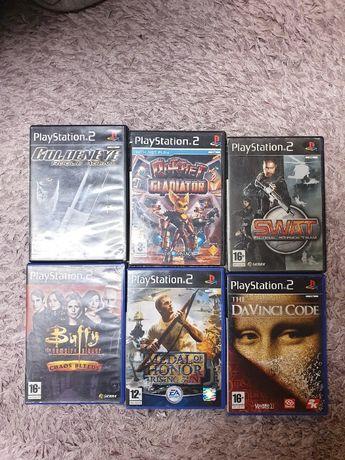 Płyty Gry Playstation 2 , zestaw 6 płyt