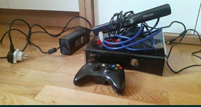 Konsola Xbox 360 + Kinect 1 kontroler 50 gier
